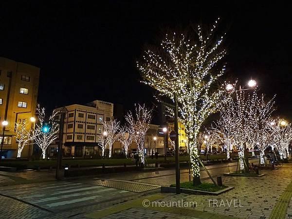 海港大通公園聖誕燈飾