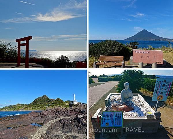 指宿景點:龍宮神社、長崎鼻燈塔