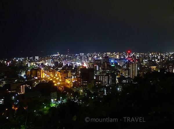 鹿兒島市夜景城山展望台