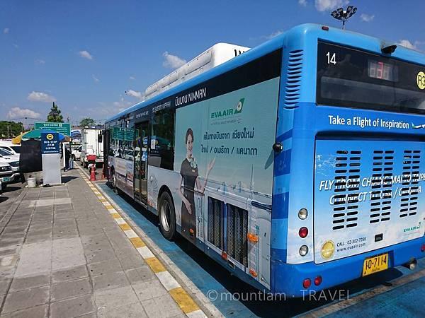清邁冷氣公共巴士