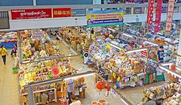清邁景點:龍眼市場購買伴手禮