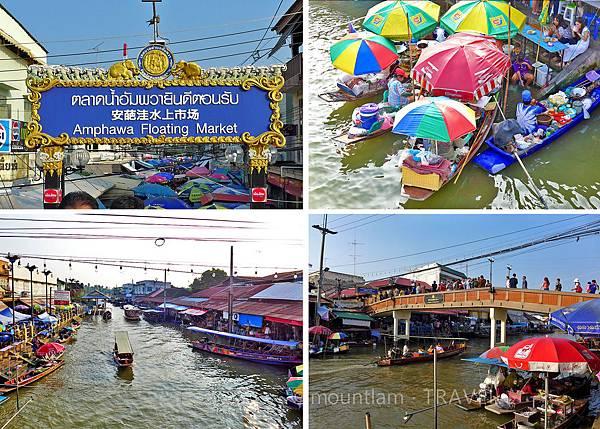 曼谷景點:包車到amphawa水上市場