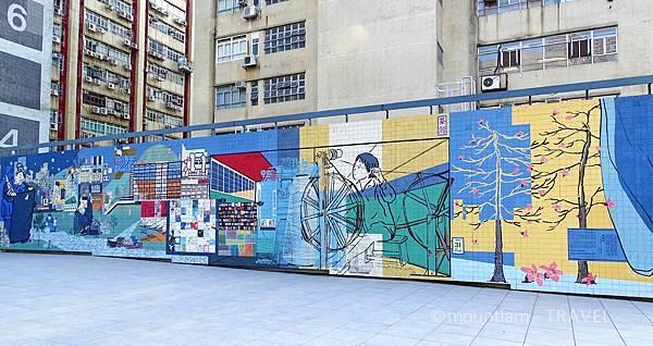 香港文青景點:南豐紗廠公園影相3樓公園