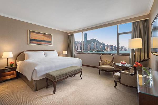 macro polo hk staycation 豪華海景客房