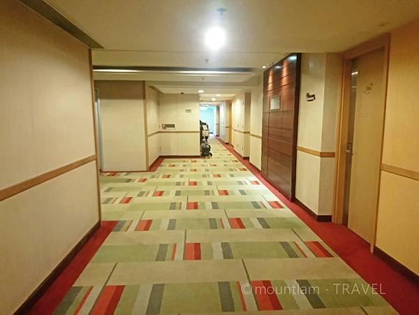 悅品海景酒店觀塘Hotel Cozi Harbour View 走廊