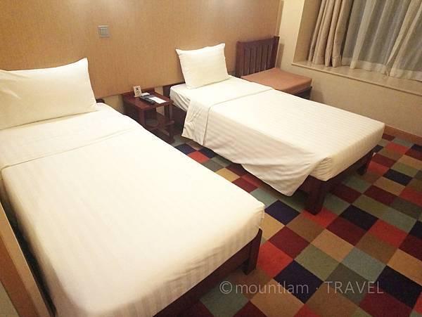 悅品海景酒店觀塘Hotel Cozi Harbour View twin bed