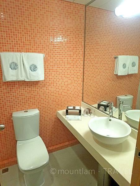 悅品海景酒店觀塘Hotel Cozi Harbour View  toilet