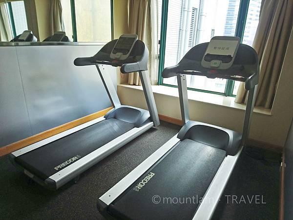 悅品海景酒店觀塘Hotel Cozi Harbour View 健物室