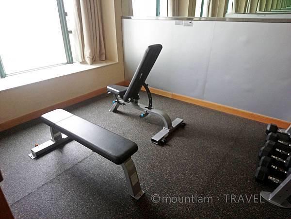 悅品海景酒店觀塘Hotel Cozi Harbour View 健身室