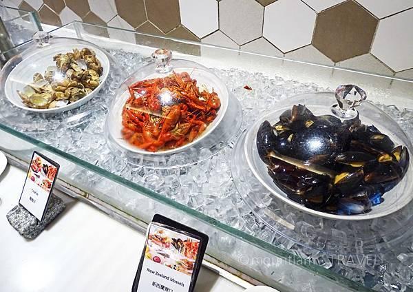 九龍諾富特酒店自助餐海鮮