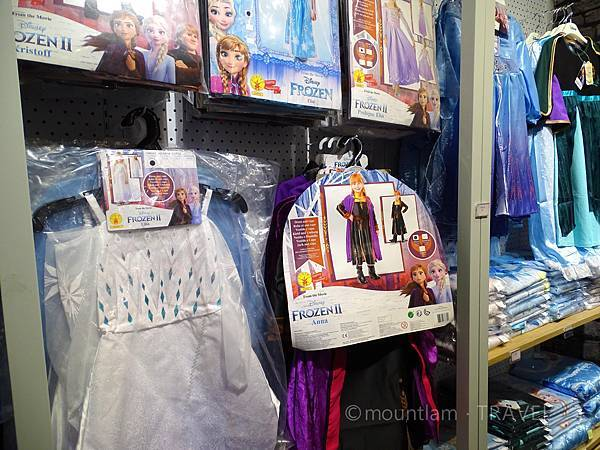 frozn展覽公主裝
