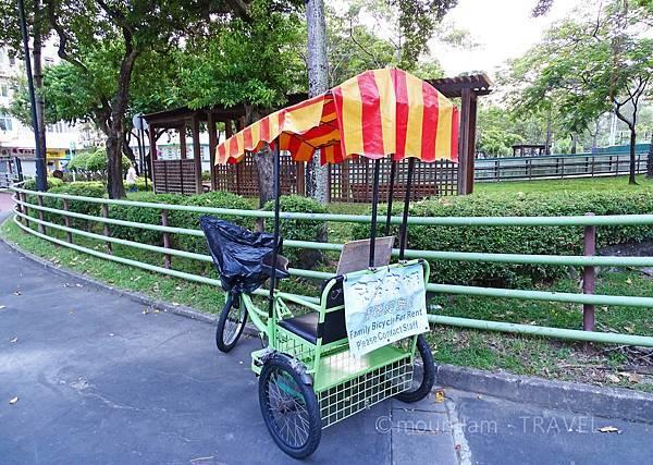 九龍城好去處之九龍城寨公園-單車公園2
