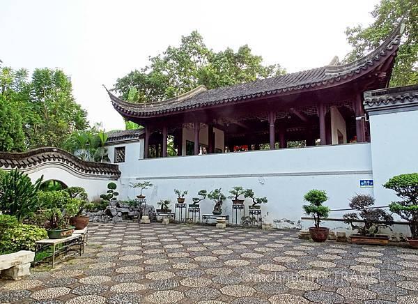 九龍城景點之九龍寨城公園的古裝拍攝點