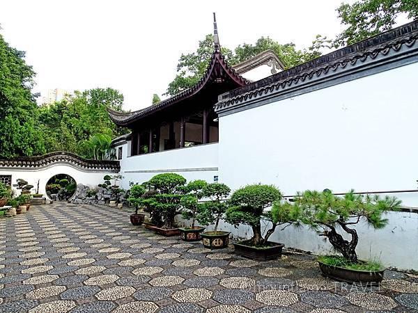 九龍城景點之九龍寨城公園的古裝拍攝點2