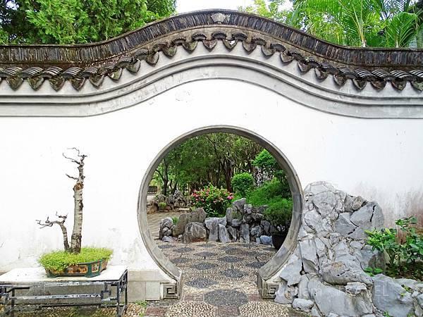 九龍城景點之九龍寨城公園的古裝拍攝點3