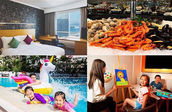 香港親子Staycation-novotel century住宿