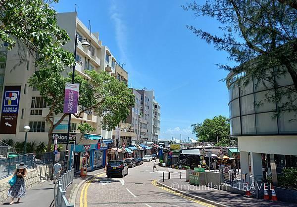 香港本地遊之赤柱交通下車站
