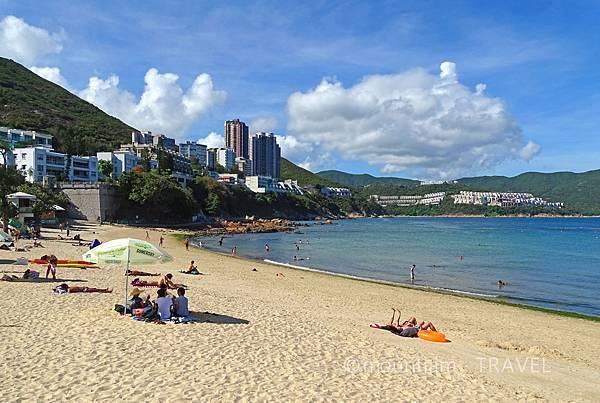 香港本地遊之赤柱行程沙灘曬太陽