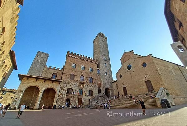tuscany古城小鎮san gimignano自駕遊遊記景點推薦piazza