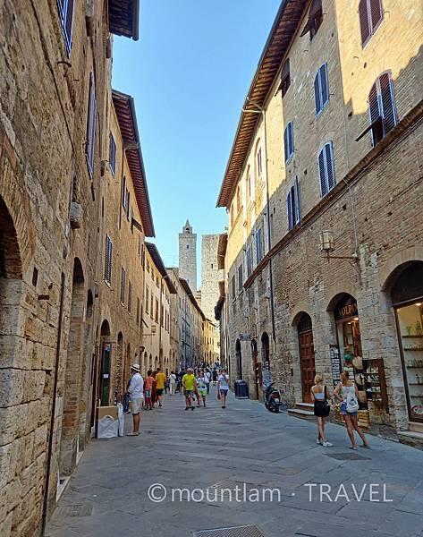 tuscany古城小鎮san gimignano自駕遊遊記
