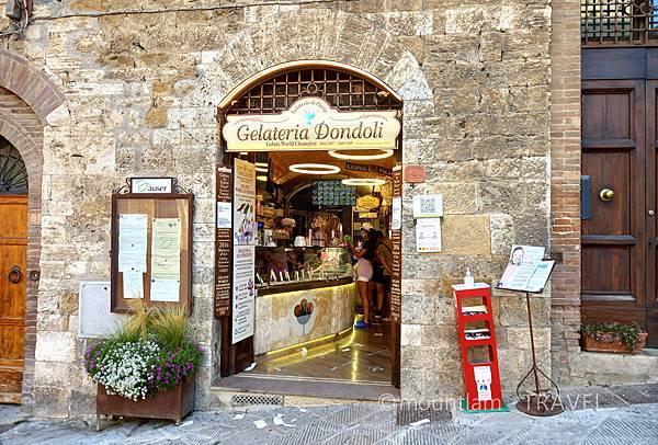 tuscany古城小鎮san gimignano自由行遊記gelato雪糕店推薦2