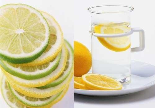熱的檸檬水圖片