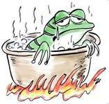 2、青蛙現象:1