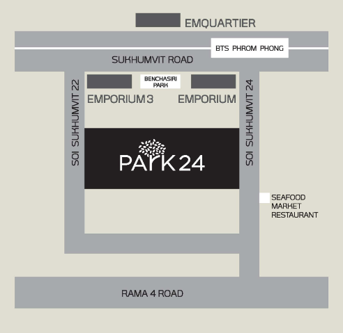 Park 24 location map