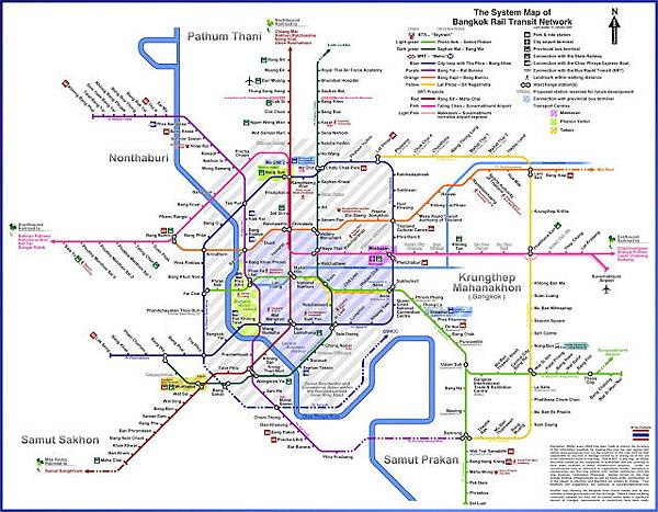 海外投資菁英曼谷未來捷運線