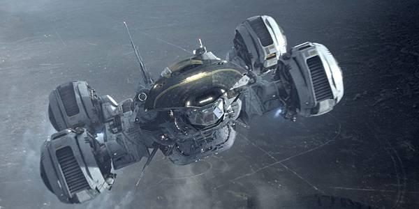 【獨家】探索《普羅米修斯》(Prometheus)機密報告:太空船設計概念