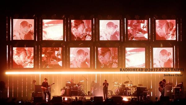 Radiohead2012台北演唱會