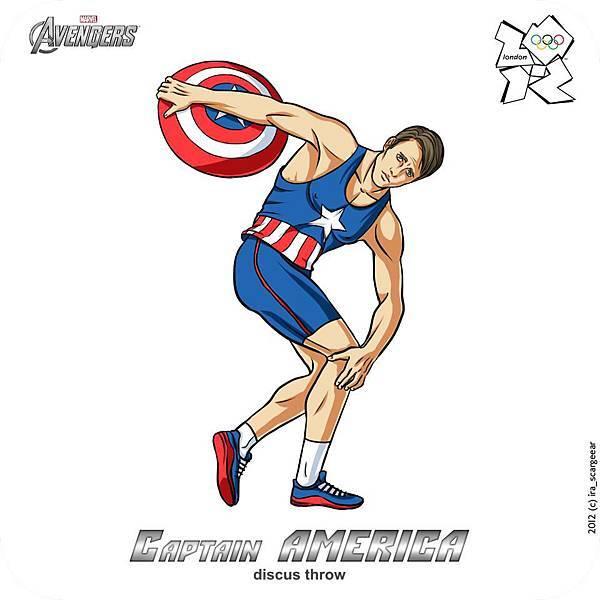 【痞客邦電影圈特蒐】《復仇者聯盟》休憩日:倫敦奧運我們來了!