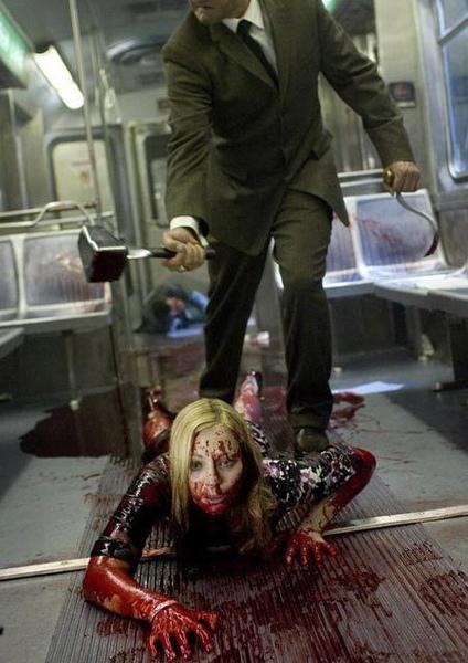 劇照:倒楣的女乘客