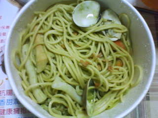 麵食主義 海鮮青醬麵