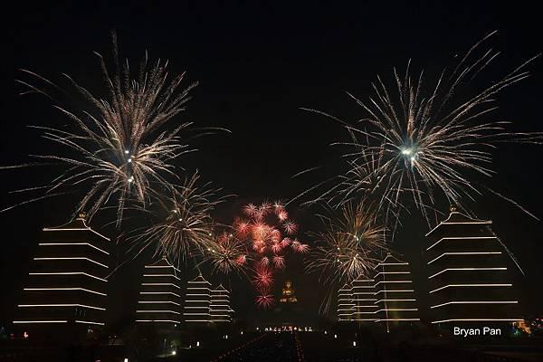 2014佛陀紀念館煙火