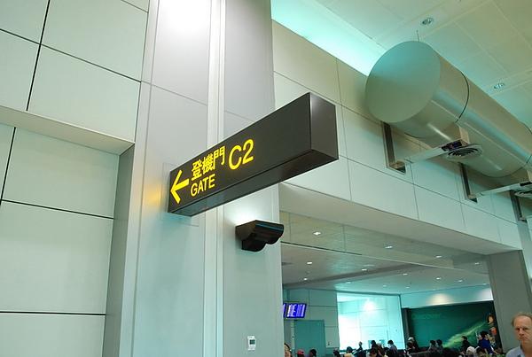 這次是C2登機口