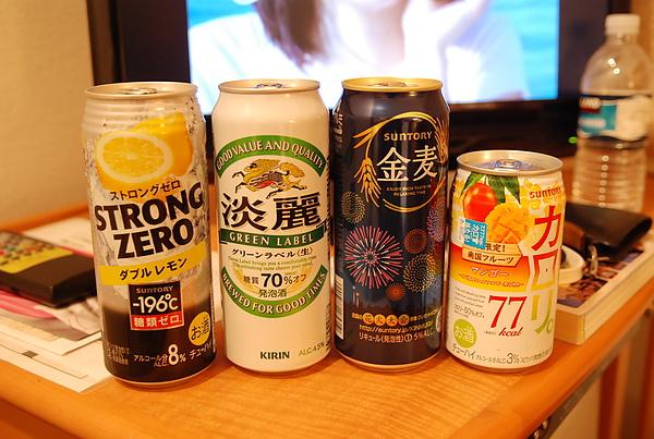 日本啤酒種類多便宜又好喝