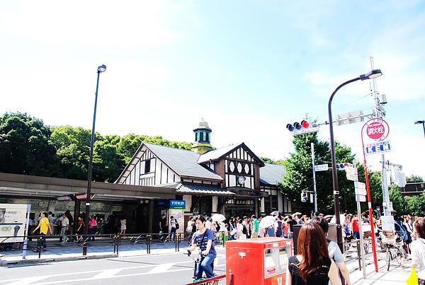 原宿站很復古式