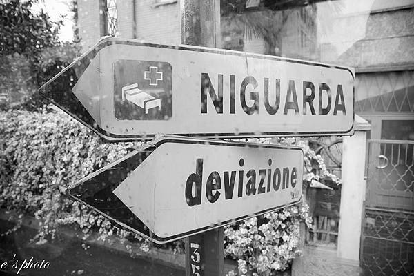 義大利路牌