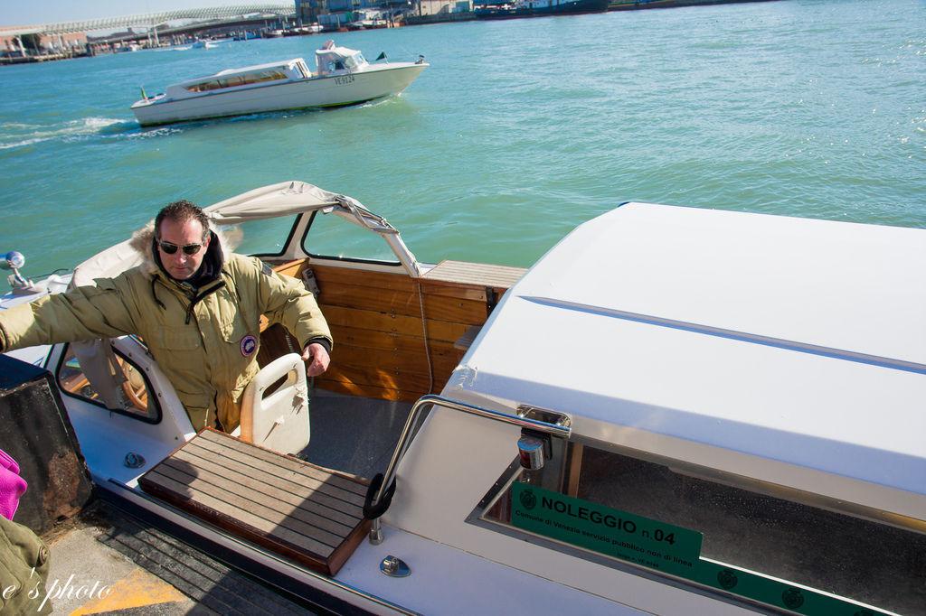 維洛納-威尼斯 搭船