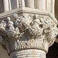 道奇宮 柱