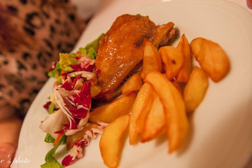 晚餐 ANTICO BARILE 烤雞腿