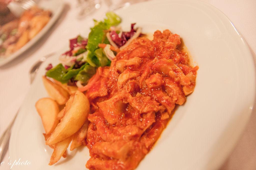 晚餐 ANTICO BARILE 番茄牛肚