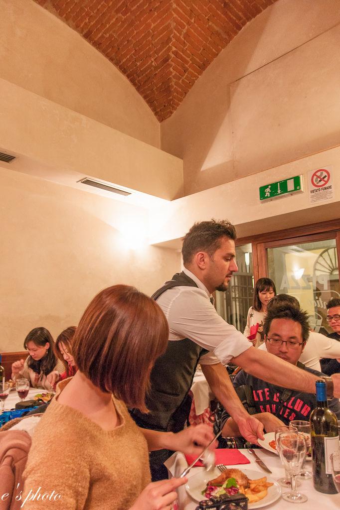 『蜜月旅行』加利利 義大利11日 佛羅倫斯(Firenze) 晚餐 ANTICO BARILE