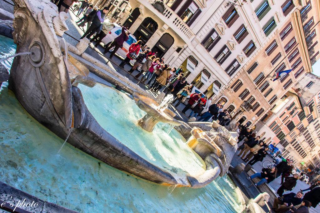 『蜜月旅行』加利利 義大利11日 羅馬(Roma) 西班牙台階(Spanish Steps)+戰利品