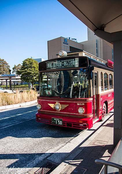 橫濱 紅鞋子巴士