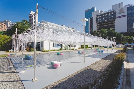 2014勤美術館_聖誕村活動_星空2