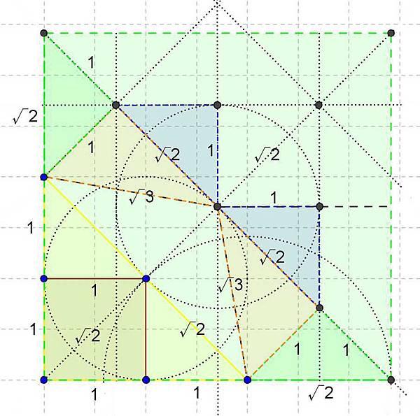 角錐摺紙圖--------