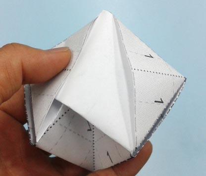 b角錐摺紙圖07b