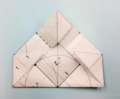 b角錐摺紙圖05b